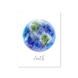 Planet Earth Playroom Decor