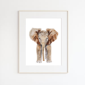 Elephant No. 1 - Baby Portrait