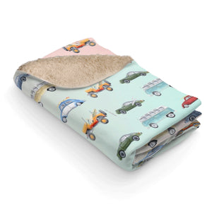 Toddler Blanket Car Design