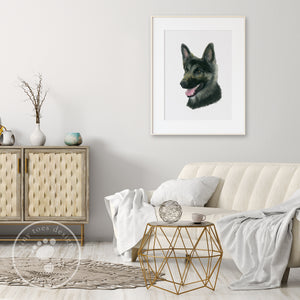 German Shepherd Home Decor