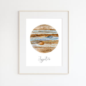 Planet Jupiter Wall Decor