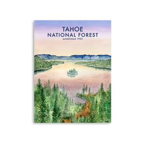 Emerald Bay Lake Tahoe Poster