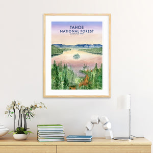 Emerald Bay at Lake Tahoe Wall Art
