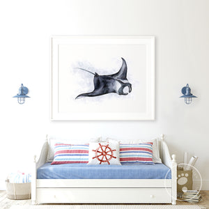 Manta Ray Playroom Decor