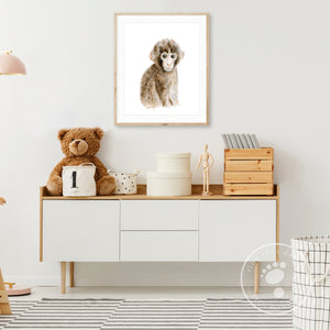 Monkey Playroom Decor