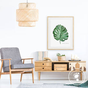 Palm Leaf Botanical Home Decor