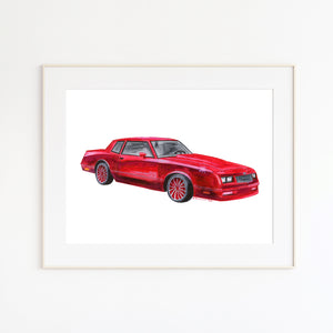 Chevy Monte Carlo Wall Art