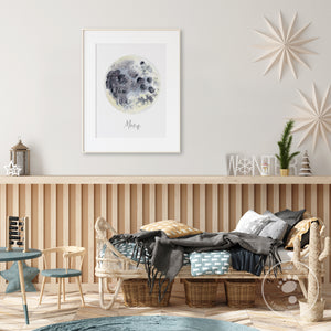 Moon Home Decor Scandi