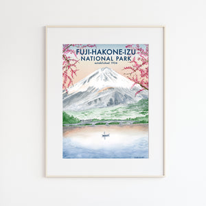 Mt. Fuji National Park Poster