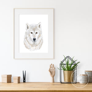 Wolf Wall Decor