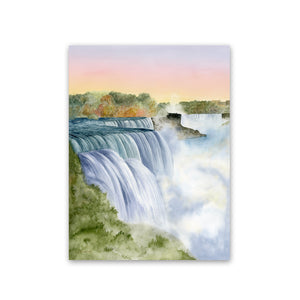 Niagara Falls Watercolor Painting