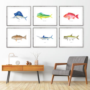 Deep Sea Fishing Wall Art