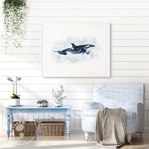 Killer Whale Home Decor