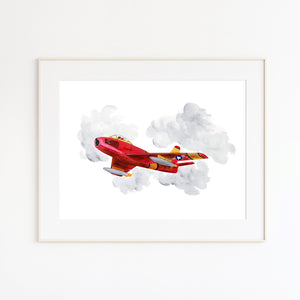 Sabre F-86 Wall Decor