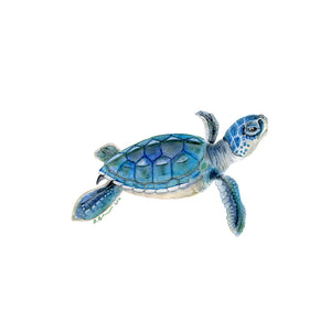 Sea Turtle Nursery Print