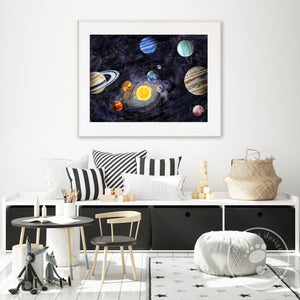 Solar System Playroom Decor