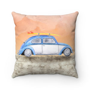 Surf's Up VW Bug Pillow