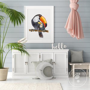 Tropical Bird Nursery Art