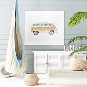 Beach Vehicle Nursery Art