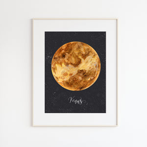 Venus Watercolor Print