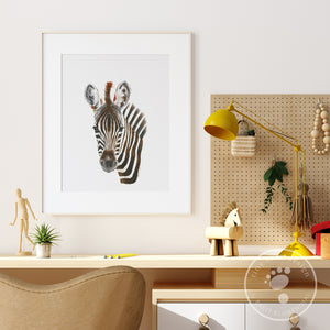 Zebra Baby Room Decor