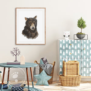 Bear Kids Room Decor