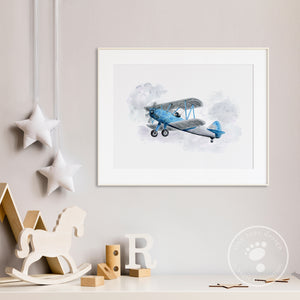 Biplane Boys Room Decor