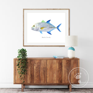 Bluefin Trevally Decor