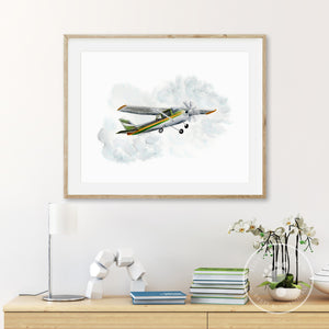 Cessna Aviation Home Decor