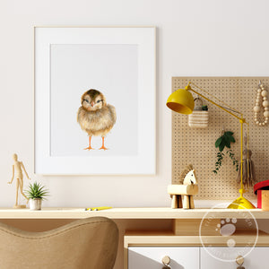 Baby Chick Wall Art