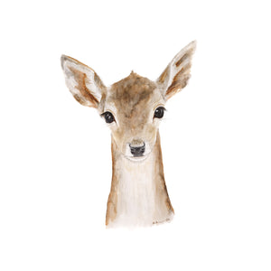 Baby Fawn Nursery Decor