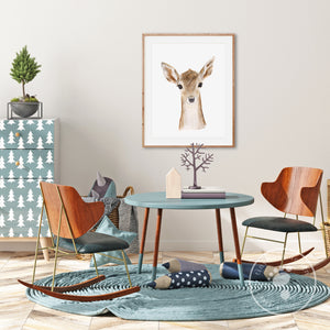 Bambi Playroom Art