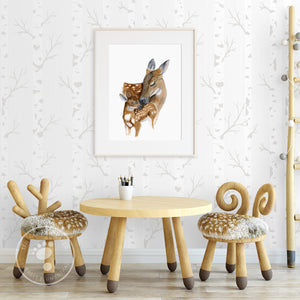 Deer Playroom Decor