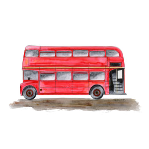 Double Decker Illustration