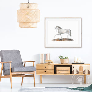 Horse Dressage Home Decor