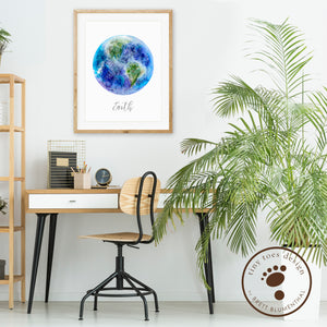 Earth Wall Decor