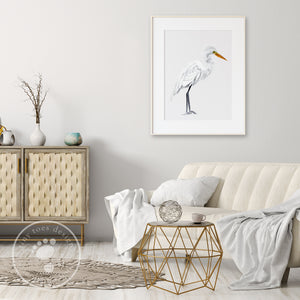 Egret Wall Decor