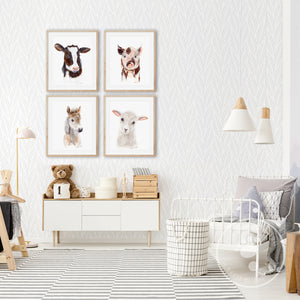 Farm Animal Nursery Decor