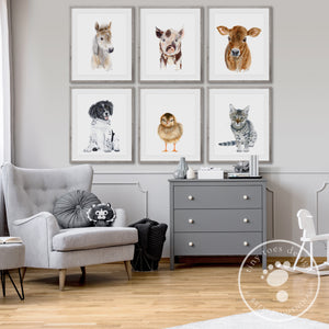 Baby Farm Animal Nursery Decor