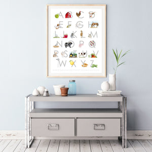 Farm Alphabet Baby Room Decor
