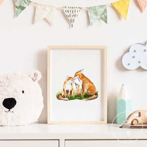 Fox Baby Room Decor