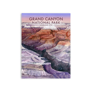 Grand Canyon Watercolor Poster