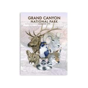 Grand Canyon National Park Wildlife Poster