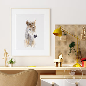 Baby Farm Animal Wall Art