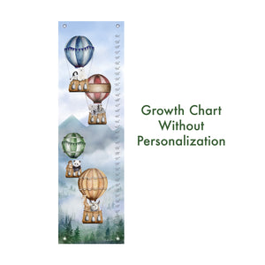 Animals in Hot Air Balloons without Name Growth Chart