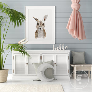 Baby Kangaroo Playroom Decor