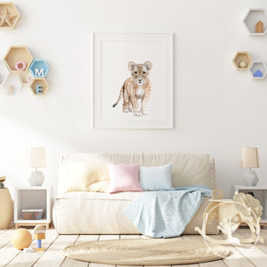 Baby Lion Playroom Decor