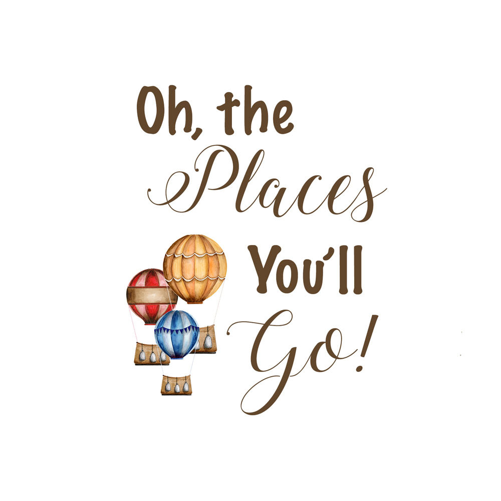 photograph relating to Oh the Places You'll Go Printable named Oh The Puts Youll Move Quotation Print