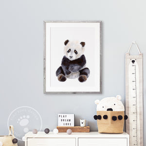 Panda Bear Nursery Decor