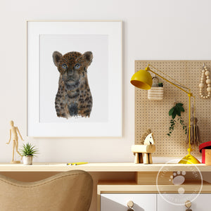 Baby Black Panther Wall Decor